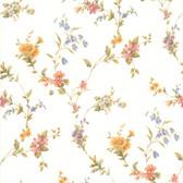 436-65757 - Heidi Peach Floral Trail wallpaper