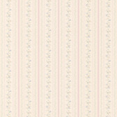 436-66330 - Marta Pink   Dainty Floral Stripe wallpaper