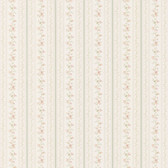 436-66332 - Marta Green   Dainty Floral Stripe wallpaper