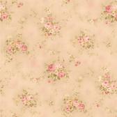 436-66405 - Carolina Pink Rose Bouquet wallpaper