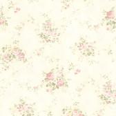 436-66407 - Carolina Blush Rose Bouquet wallpaper