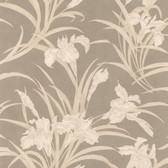 436-66603 - Vivianne Metallic Iris Floral  wallpaper