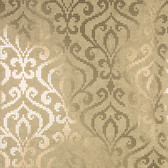 2542-20753 Venus Brass Foil Mini Damask wallpaper