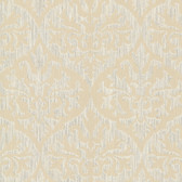 2542-20700 Sumatra Gold Ikat Damask  wallpaper