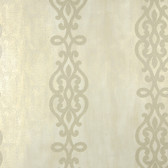 2542-20719 Anaconda Champagne Glitter Stripe  wallpaper