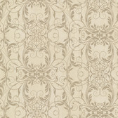 2542-20731 Tianna Brass Ironwork Scroll wallpaper