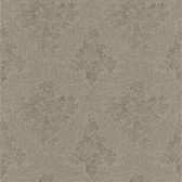 Simply Satin VI Cotswold Floral Damask Cedar Wallpaper 990-65063