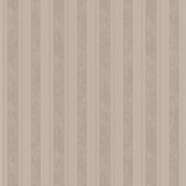 Simply Satin VI Kingsbury Satin Stripe Mocha Wallpaper 990-65074