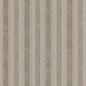 Simply Satin VI Kingsbury Satin Stripe Ash Wallpaper 990-65076