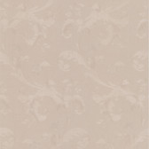Simply Satin VI Isleworth Floral Scroll Taupe Wallpaper 990-65093