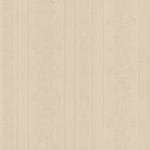 Simply Satin VI Kensington Damask Stripe Sepia Wallpaper 990-65096