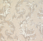 481-1422 Romeo Champagne Leafy Scroll wallpaper