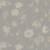 481-1430 Kallisto Grey Floral Trail wallpaper