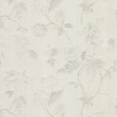 481-1432 Kallisto Taupe Floral Trail wallpaper