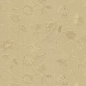 481-1436 Kallisto Gold Floral Trail wallpaper
