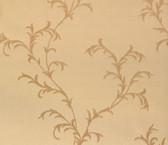 481-1444 Vittorio Gold Trailing Vine wallpaper