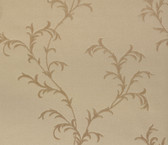 481-1454 Vittorio Brass Trailing Vine wallpaper