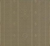 481-1459 Pasquale Olive Embellished Stripe wallpaper
