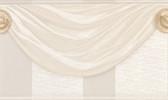 481-1574 Genevra Champagne Draping Satin Border wallpaper