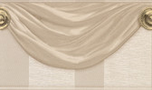 481-1578 Genevra Beige Draping Satin Border wallpaper