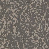 Suzani Block Print Tree Mocha Wallpaper 314053