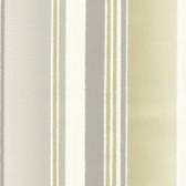 Suzani Stitch Stripe Dove-Olive Wallpaper 314060