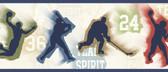 Glavine Sports Figures Toss Blue Border Wallpaper TOT46302B