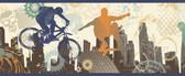 Shawn Xgames Portrait Blue Border Wallpaper TOT46322B