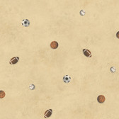Chesapeake Sports Balls Toss Oat Wallpaper TOT47192