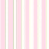 Gatsby City Scape Stripe Pink Wallpaper TOT47233