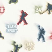 Glavine Grey Sports Figures Toss Pine Wallpaper TOT47241