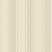 Turf Navy Stripe Oat Wallpaper TOT47272