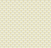 white, pale grey, butter yellow, silver Carey Lind Vibe  Scallop Wallpaper