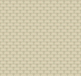 cream, silver grey, taupe, gold Carey Lind Vibe  Scallop Wallpaper