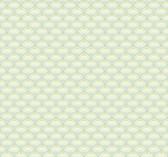 white, sea foam green, pale aqua, lime green Carey Lind Vibe  Scallop Wallpaper