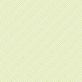 soft lime, chalk white Carey Lind Vibe  Greek Key Wallpaper