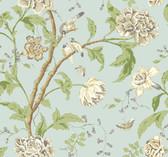 Carey Lind Vibe EB2093 Woven Damask Stripe Wallpaper