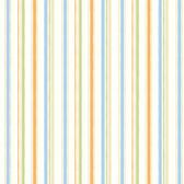 Macey Orange Wiggle Stripe