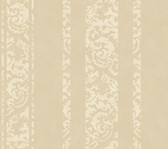 Weatherby Woods Textured Stripe Wallpaper Taupe Pearl/Off White