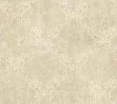 Weatherby Woods Laser Cut Ogee Wallpaper Cr������������_����������������������������__������������_������������������������������������������������me/Beige/White Smoke