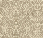Weatherby Woods Laser Cut Damask Wallpaper Coffee/Cream