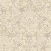 Weatherby Woods Sophisticated Damask Wallpaper Lavender/Beige/Cr������������_����������������������������__������������_������������������������������������������������me