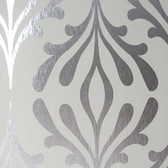 ND7018-Candice Olson Inspired Elegance Stardust Wallpaper in Taupe and Silver