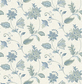 Georgette Denim Jacobean  2657-22205 Wallpaper