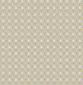 Audra Mustard Floral  2657-22247 Wallpaper