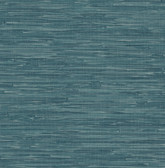 Natalie Teal Faux Grasscloth  2657-22265 Wallpaper