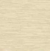 Natalie Taupe Faux Grasscloth  2657-22267 Wallpaper