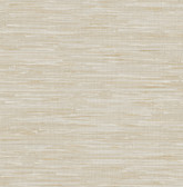 Beige Grey Faux Grasscloth  2657-22269 Wallpaper