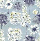 A-Street Prints Marilla Blueberry Watercolor Floral