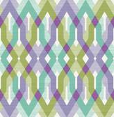 A-Street Prints Harbour Lavender Lattice